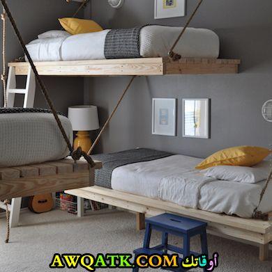 غرفة نوم أولاد في سن المراهقة ثنائية