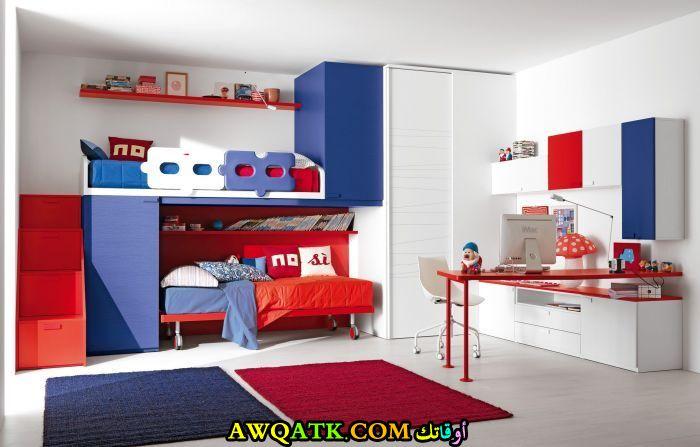 غرفة نوم أولاد ثنائية رائعة