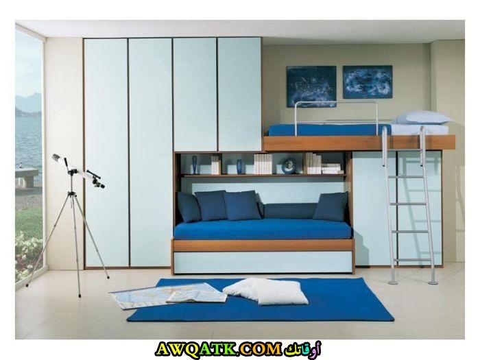 غرفة نوم ثنائية للأطفال