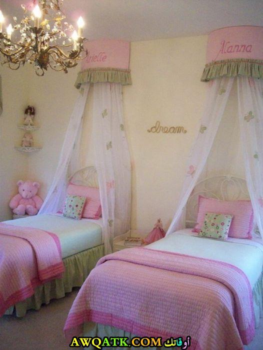 غرفة نوم بنات في منتهي الجمال والشياكة