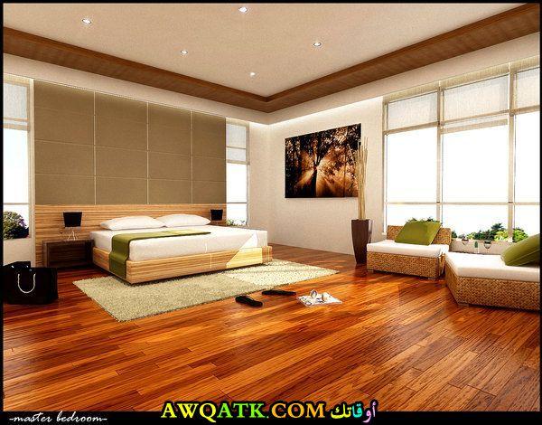 غرفة نوم بيج شيك وجميلة