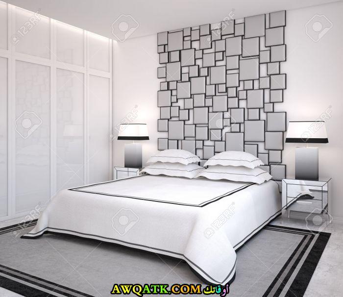غرفة نوم ثلاثية الأبعاد رائعة وجديدة