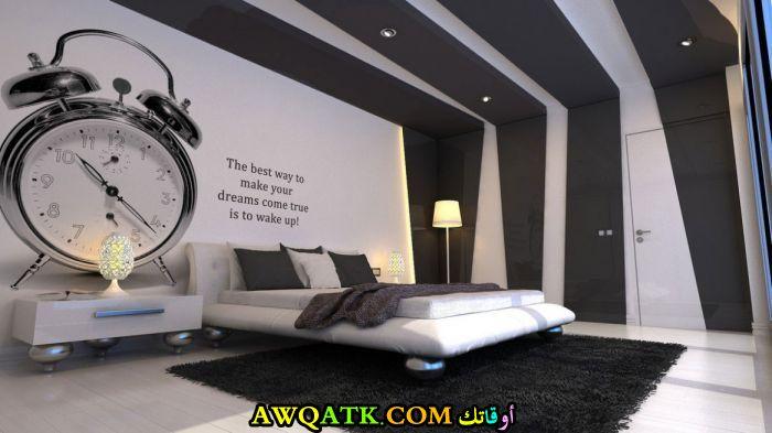 غرفة نوم روعة باللون الأسود