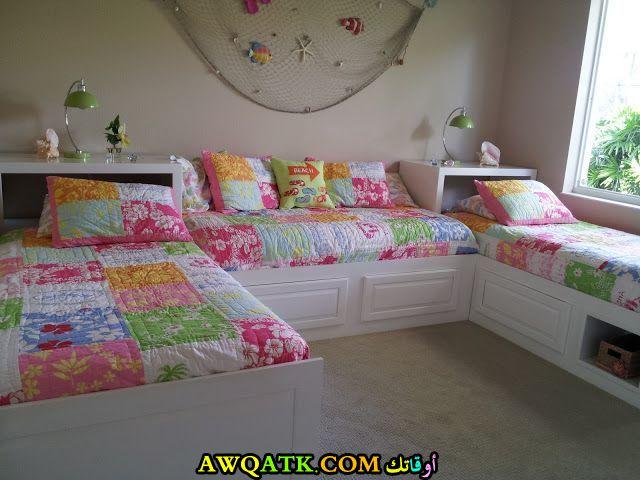 غرفة نوم شيك وجميلة للبنات