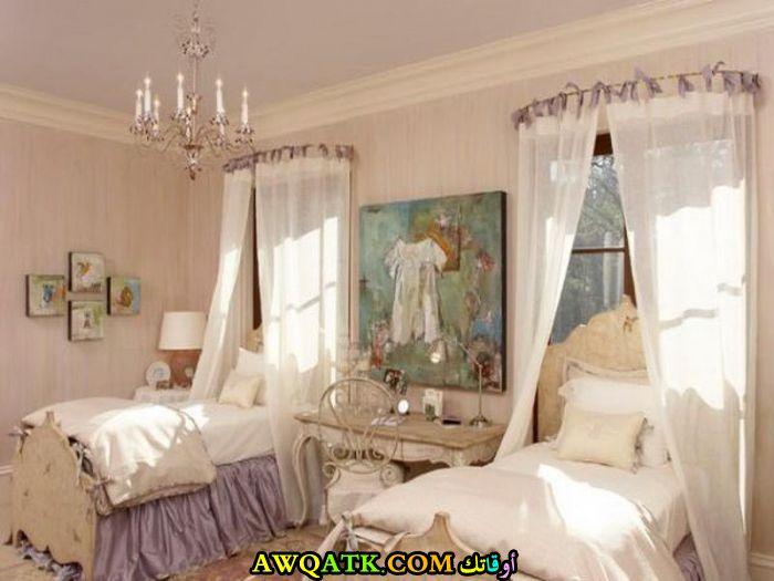 غرفة نوم ثنائية في منتهي الشياكة والجمال