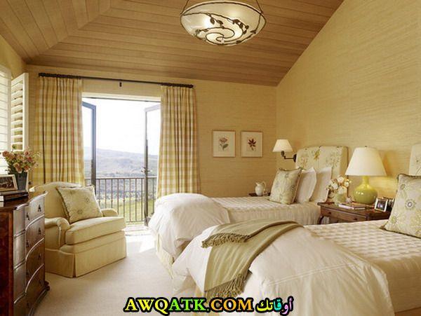 غرفة نوم ثنائية في منتهي الروعة