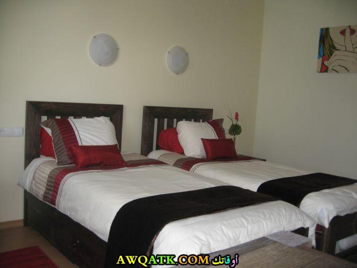 غرفة نوم ثنائية جديدة وجميلة جداً