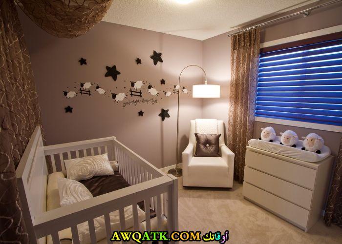 غرفة نوم رضع في منتهي الجمال
