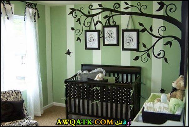غرفة نوم شيك ورائعة للرضع