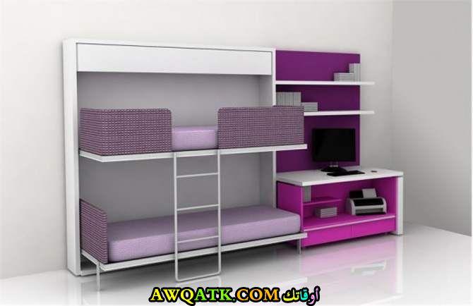 غرفة نوم للأطفال تناسب المساحة الصغيرة