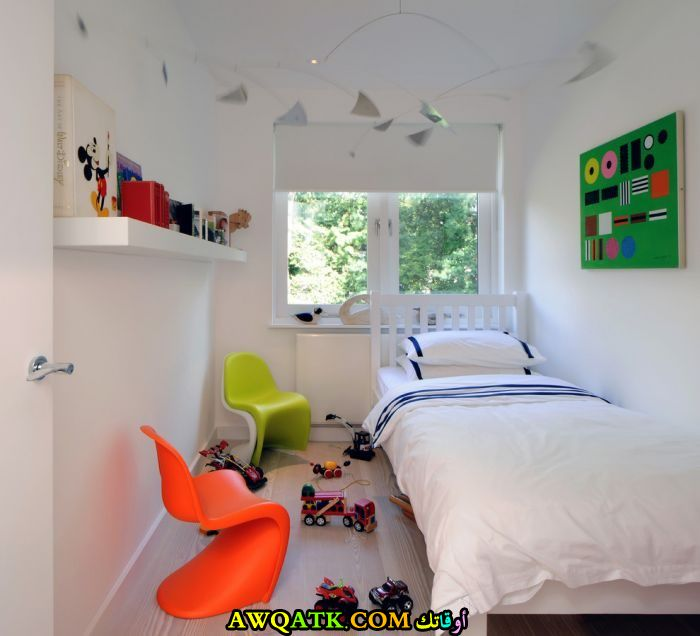 غرفة نوم صغيرة الحجم رائعة