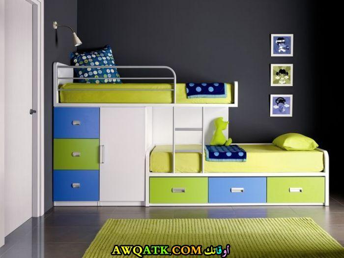 غرفة نوم صغيرة للأطفال