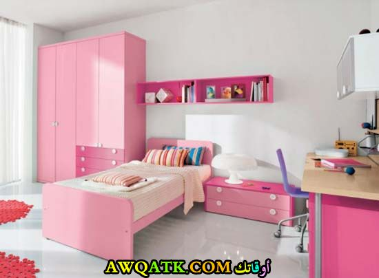 غرفة نوم بناتي رائعة
