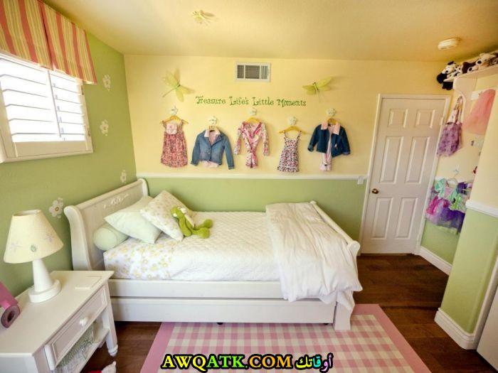 غرفة نوم بناتي شيك وجميلة
