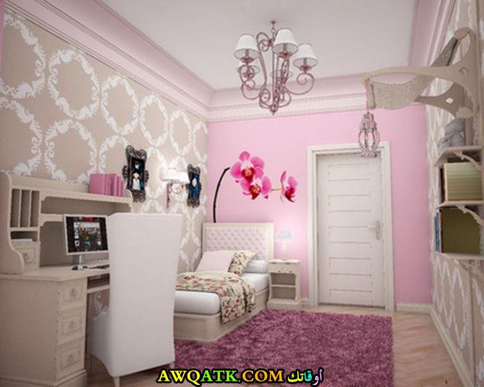 غرفة نوم صغيرة الجم في منتهي الجمال