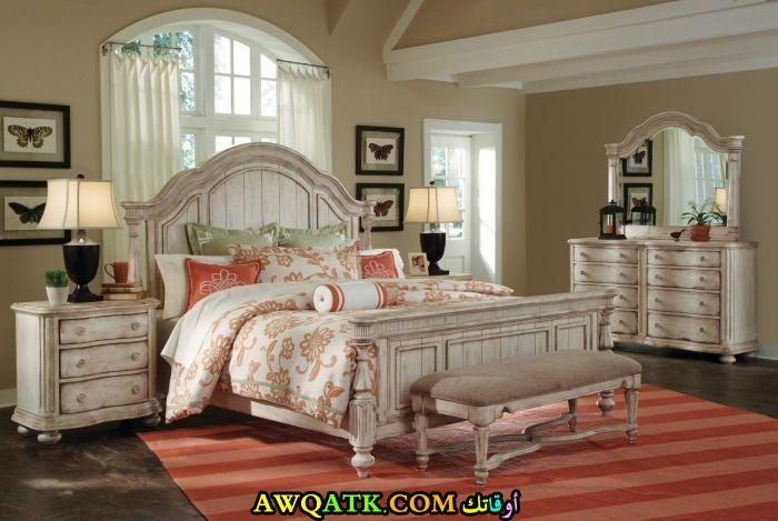 غرفة نوم للعرسان روعة وجميلة