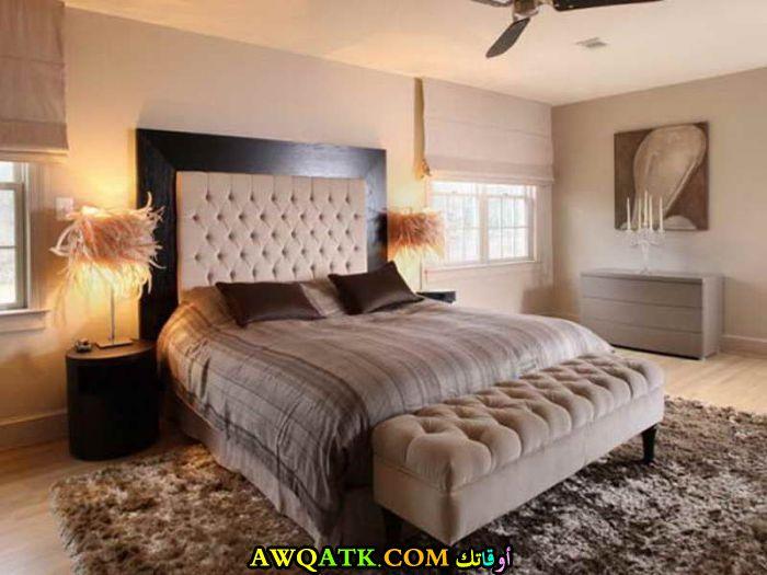 غرفة نوم شيك جداً للعرسان الجدد