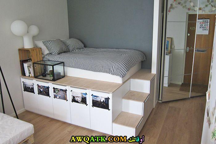 غرفة نوم صغيرة الحجم من أيكيا