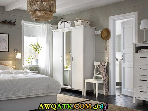 غرفة نوم أيكيا صغيرة في منتهي الروعة