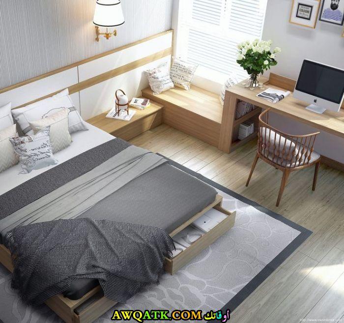 غرفة نوم مودرن شيك جداً