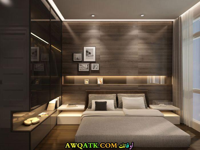 غرفة نوم مودرن صغيرة جميلة جداً