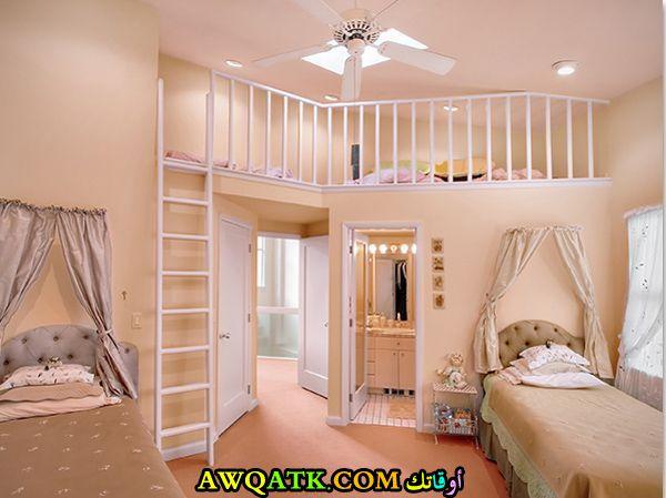 غرفة نوم جميلة جداً للبنات