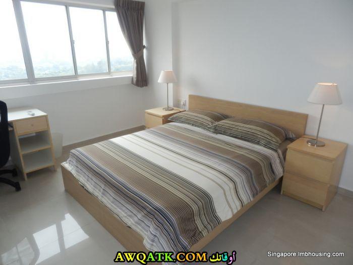 غرفة نوم عادية جديدة