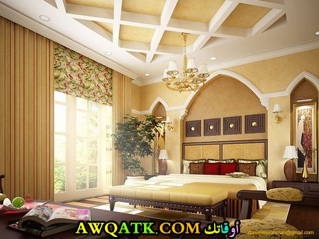 غرفة نوم عربية حديثة 2017