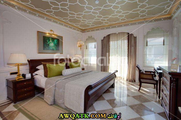 غرفة نوم عربية حديثة جميلة جداً