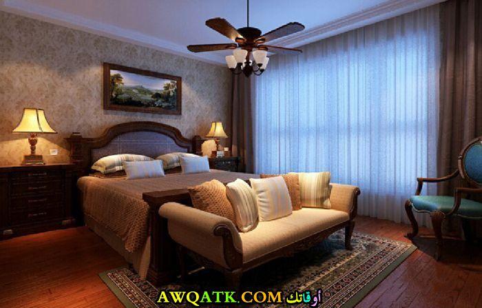 غرفة نوم علي الطراز الأمريكي شيك جداً