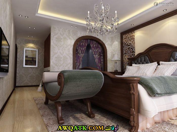 غرفة نوم علي الطراز الأمريكي جميلة جداً