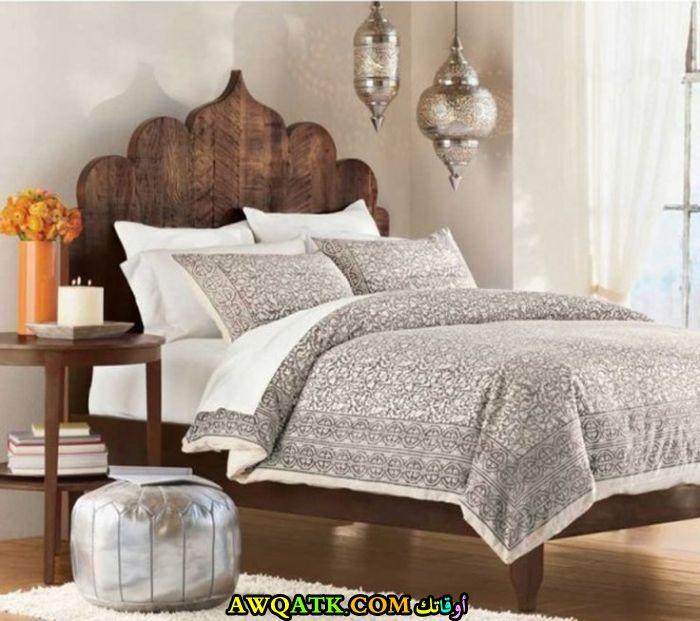 غرفة نوم علي الطراز المغربي في منتهي الروعة