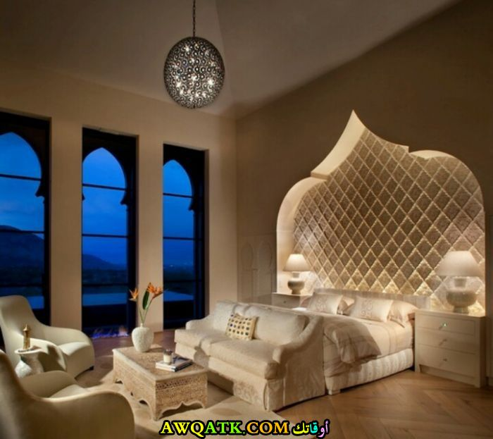 غرفة نوم مغربية روعة
