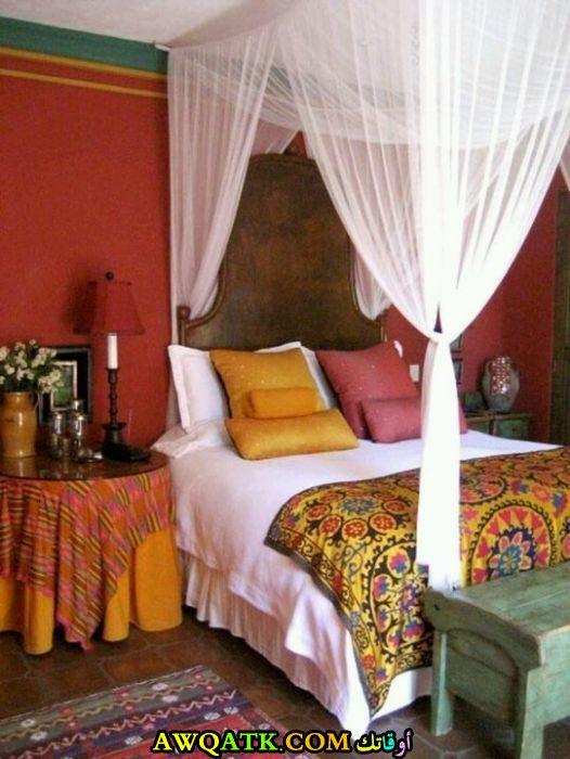 غرفة نوم رائعة علي الطراز المغربي