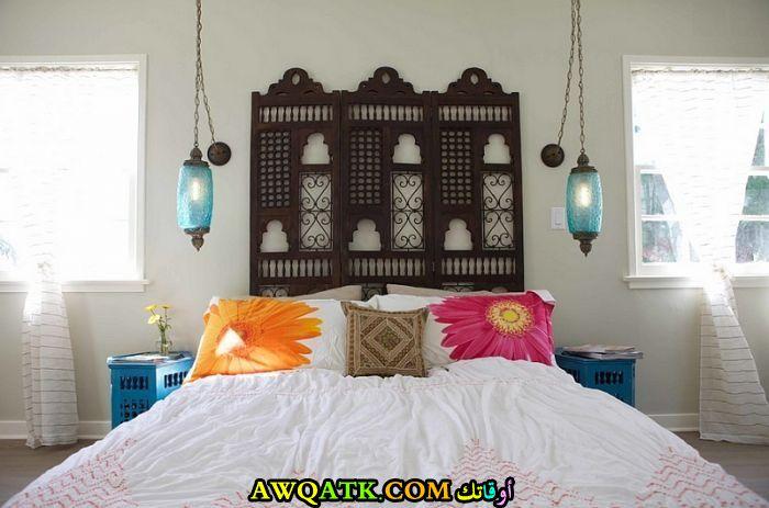 غرفة نوم روعة علي الطراز المغربي