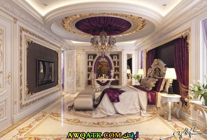 غرفة نوم فخمة جداً ورائعة