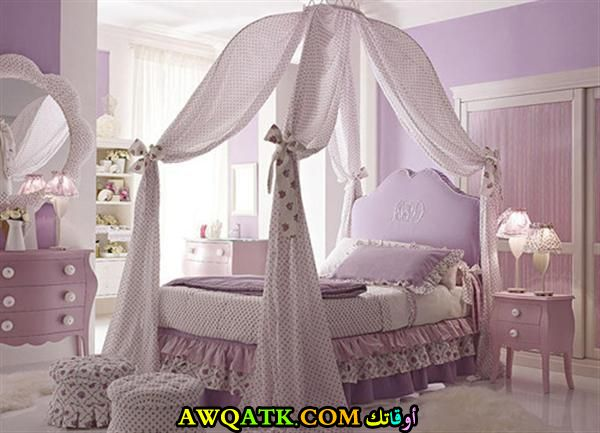 غرفة نوم بناتي فخمة جداً