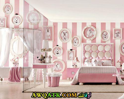 غرفة نوم للبنات جديدة 2017