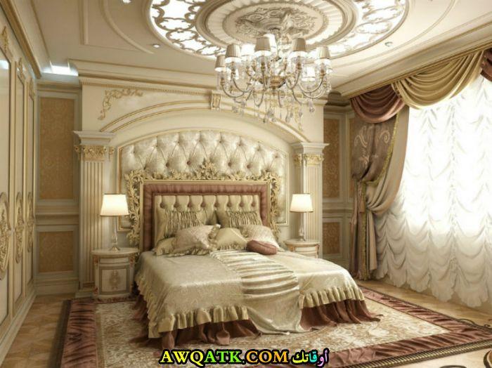 غرفة نوم للقصور روعة وشيك