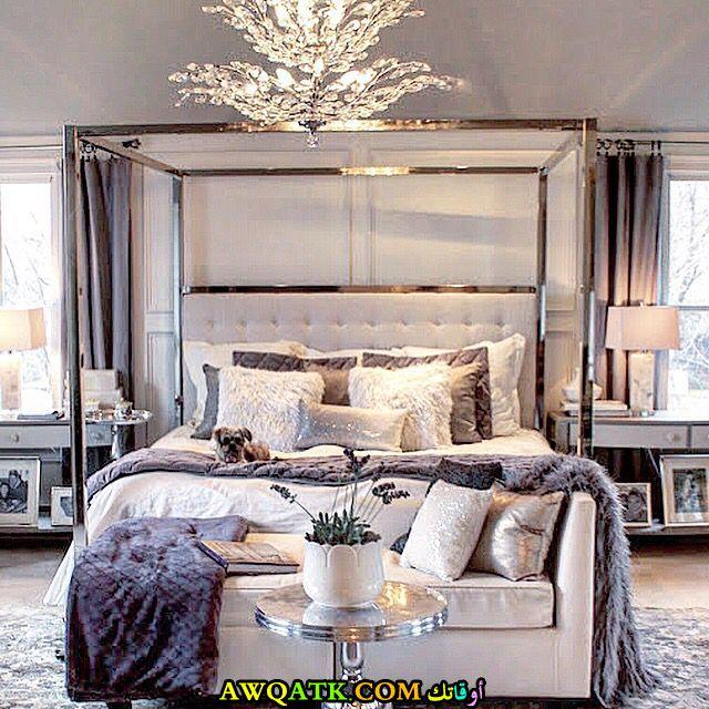 غرفة نوم شيك وفخمة