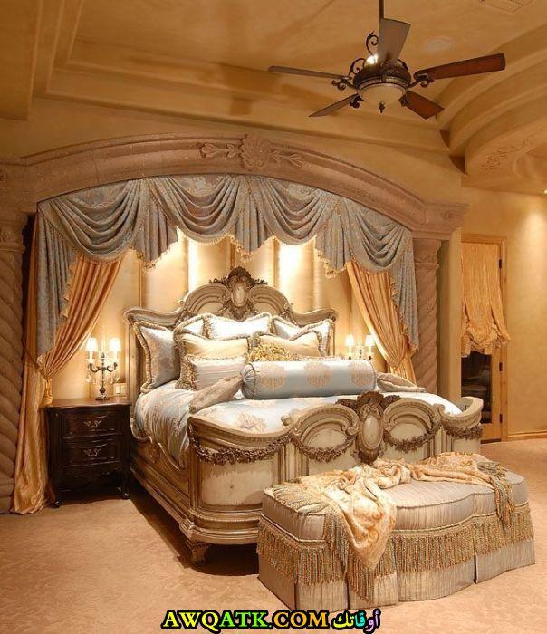 غرفة نوم جديدة وفخمة