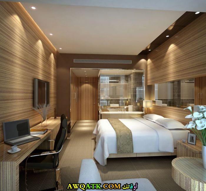 غرفة نوم فنادق شيك جداً