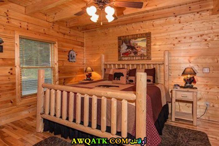 غرفة نوم روعة باللون البيج