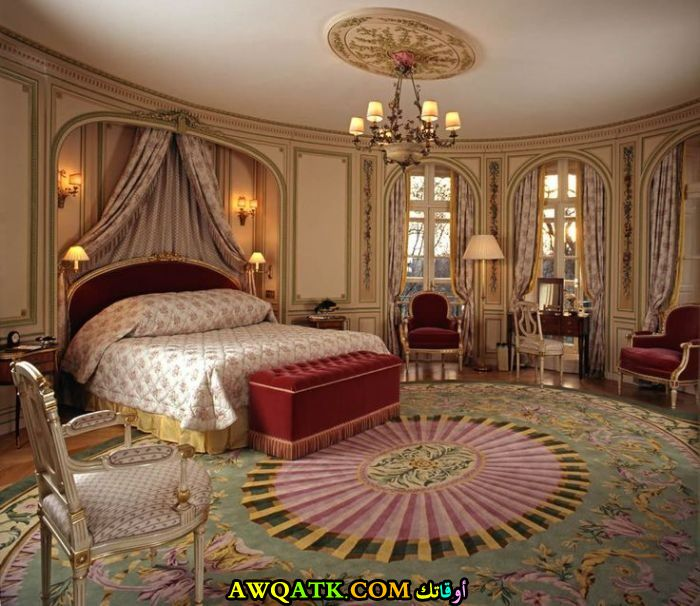 غرف نوم قصور ملكية وغرف نوم قصور فخمة