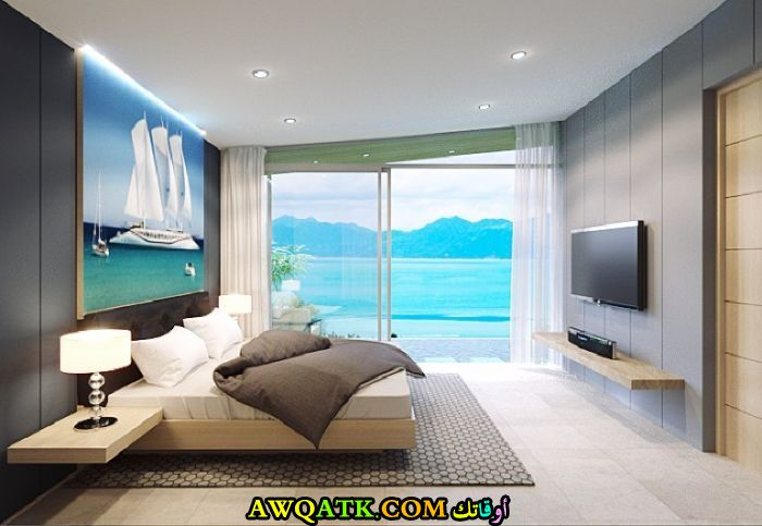 غرفة نوم جميلة جديدة