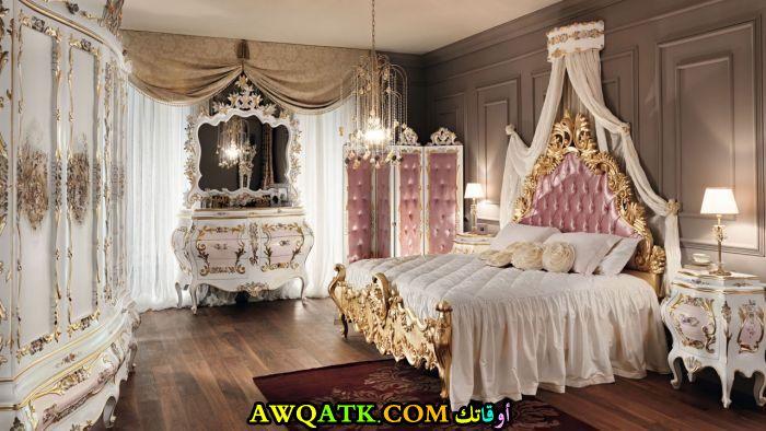 غرفة نوم هندية شيك وفخمة