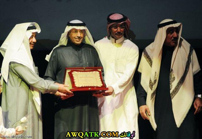 أحدث صورة للفنان السعودي أحمد الهذيل