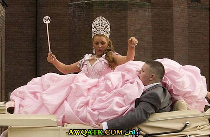 أغرب فستان زفاف
