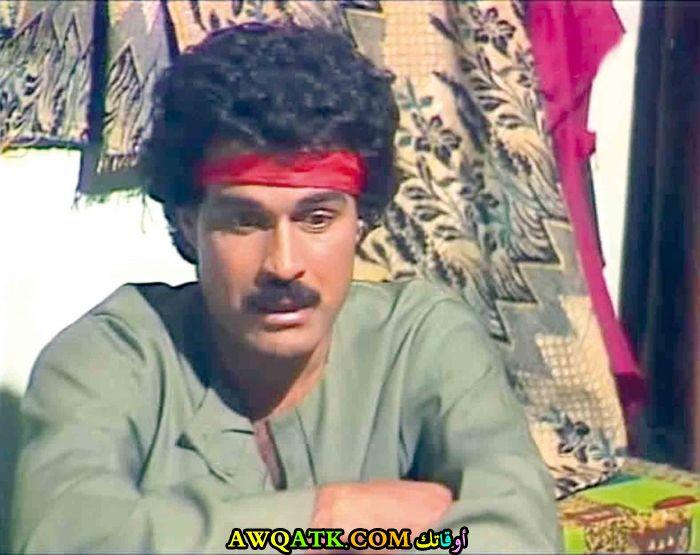 صورة قديمة للممثل إبراهيم الحربي