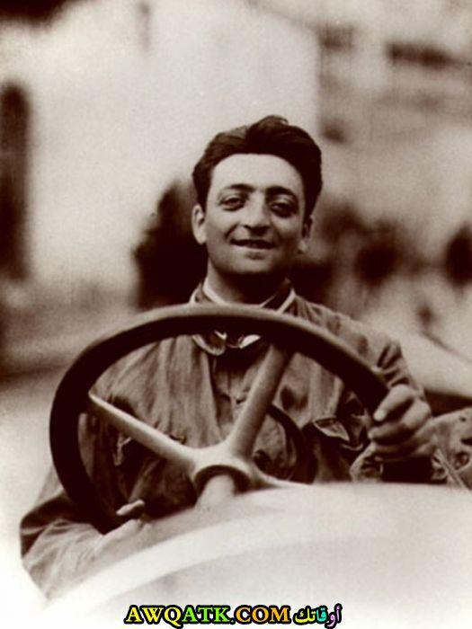 إنزو فيراري Enzo Ferrari مؤسس شركة فيراري